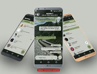 Mountain Theme For YOWhatsApp & Fouad WhatsApp By DMota