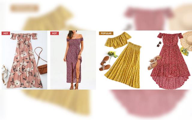zaful, vestidos de verão, vestidos xadrez, vestidos curtos, dicas de compras, dica do dia