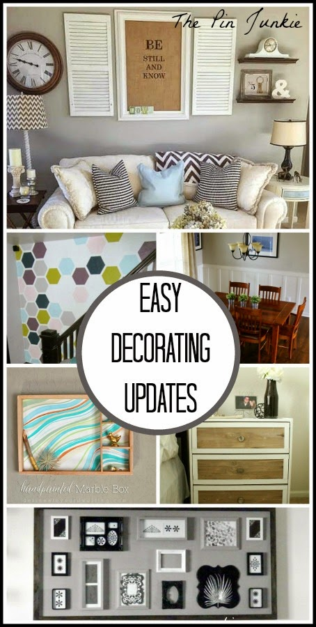 Easy Home Decorating Updates
