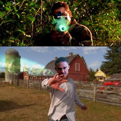 clark kent catch the bullet
