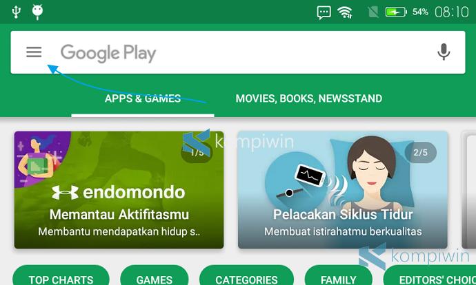 stop auto update aplikasi android
