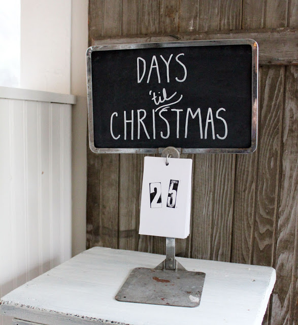 countdown to Christmas project