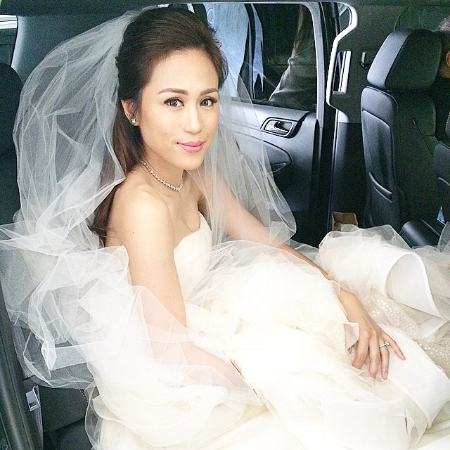 Toni Gonzaga wedding gown