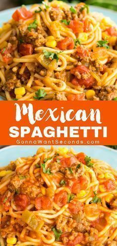 The Perfect Mexican Spaghetti
