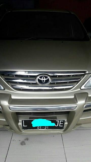 Toyota Avanza G tahun 2006 bekas