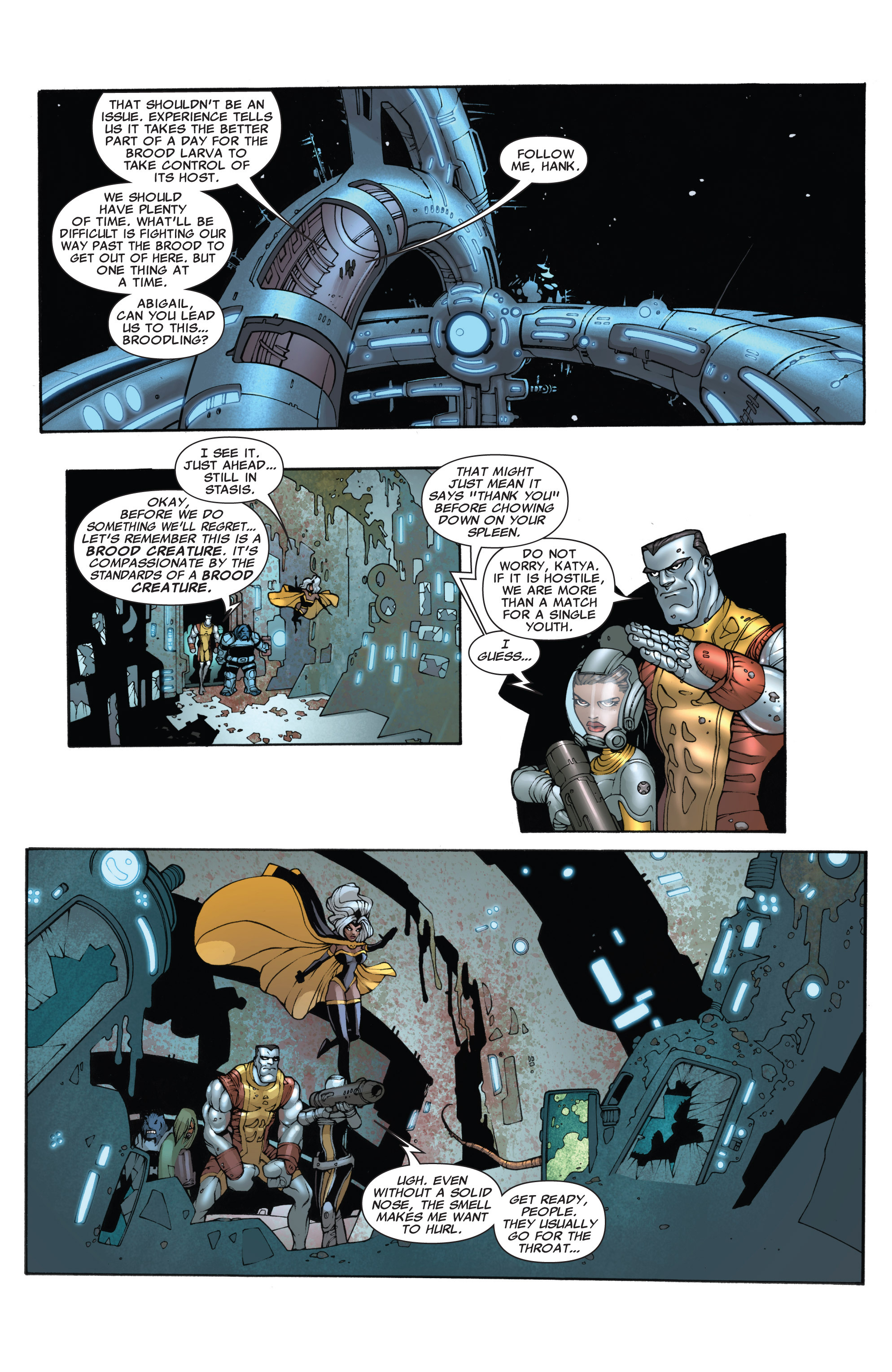Read online Astonishing X-Men (2004) comic -  Issue #40 - 15