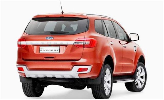 2018 Ford Everest Exterior