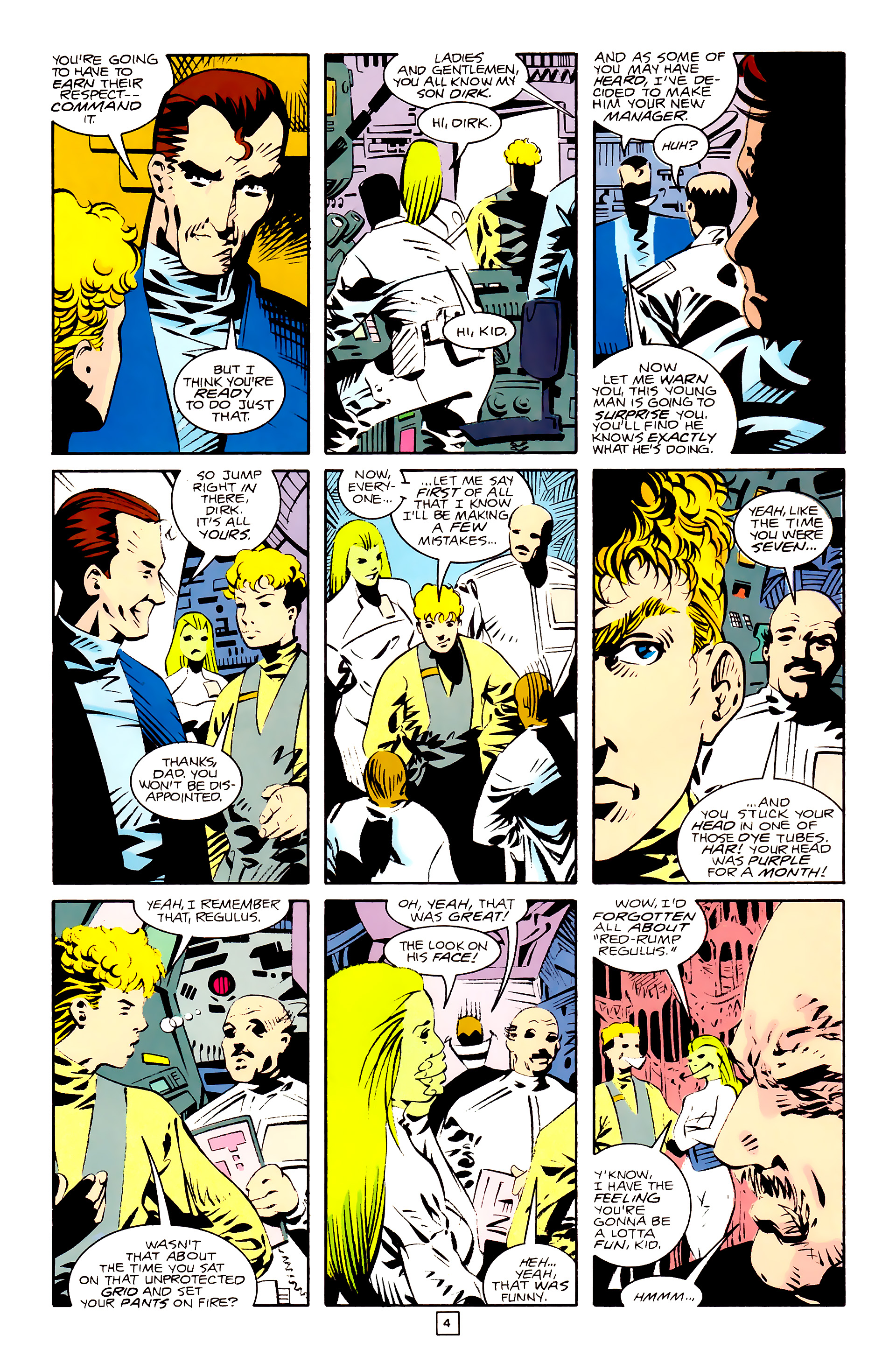 Legion of Super-Heroes (1989) 28 Page 4