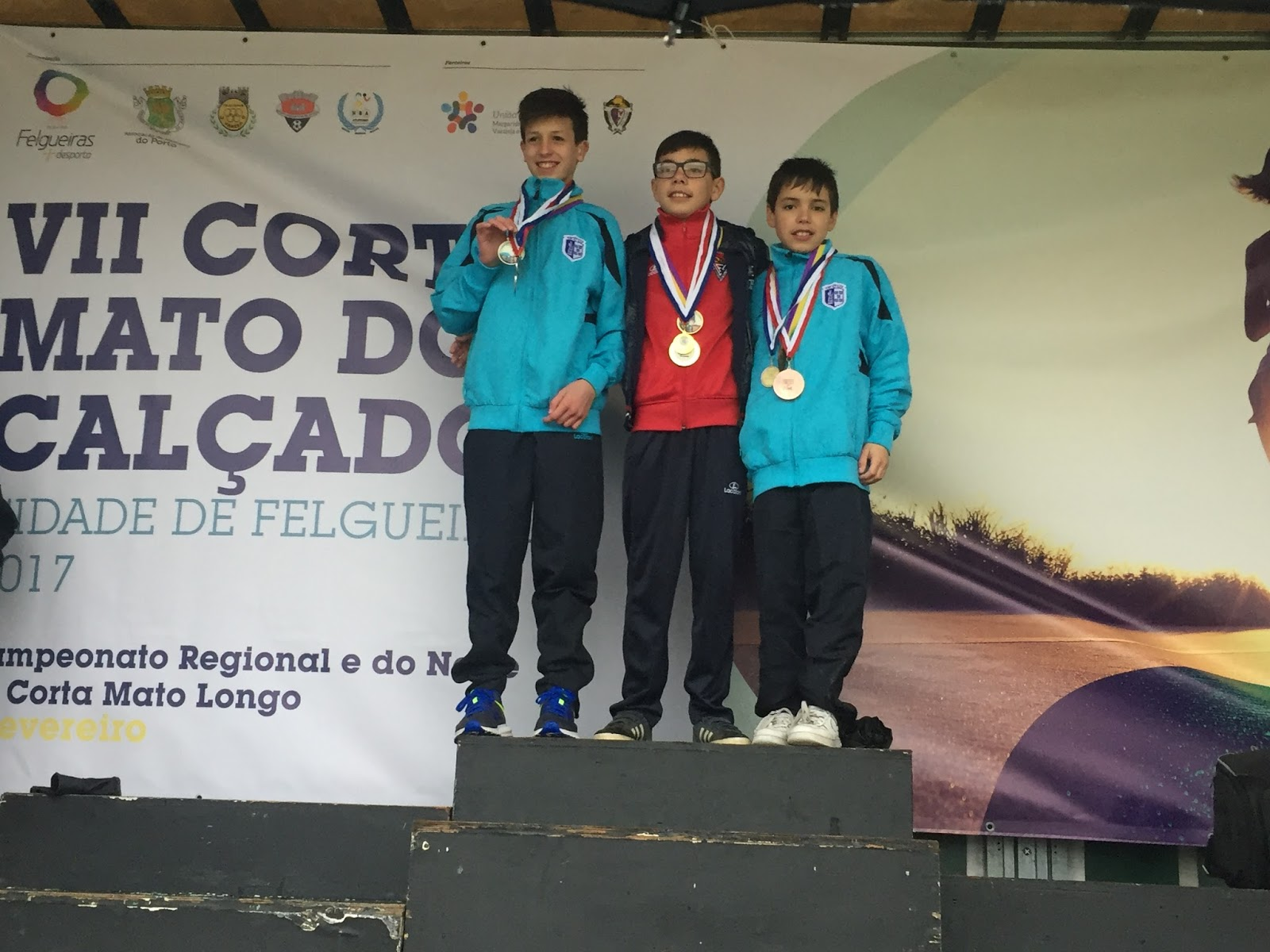 bfa383637 Realizou-se esta tarde o Campeonato do Norte de Corta Mato, inserido no VII Corta  Mato do Calçado, na cidade de Felgueiras. Destaque para os Infantis do ...