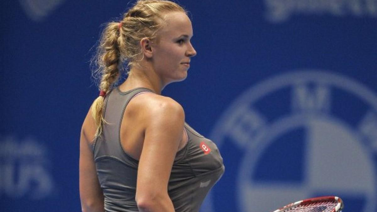 Nippelblitzer Beim Tennis