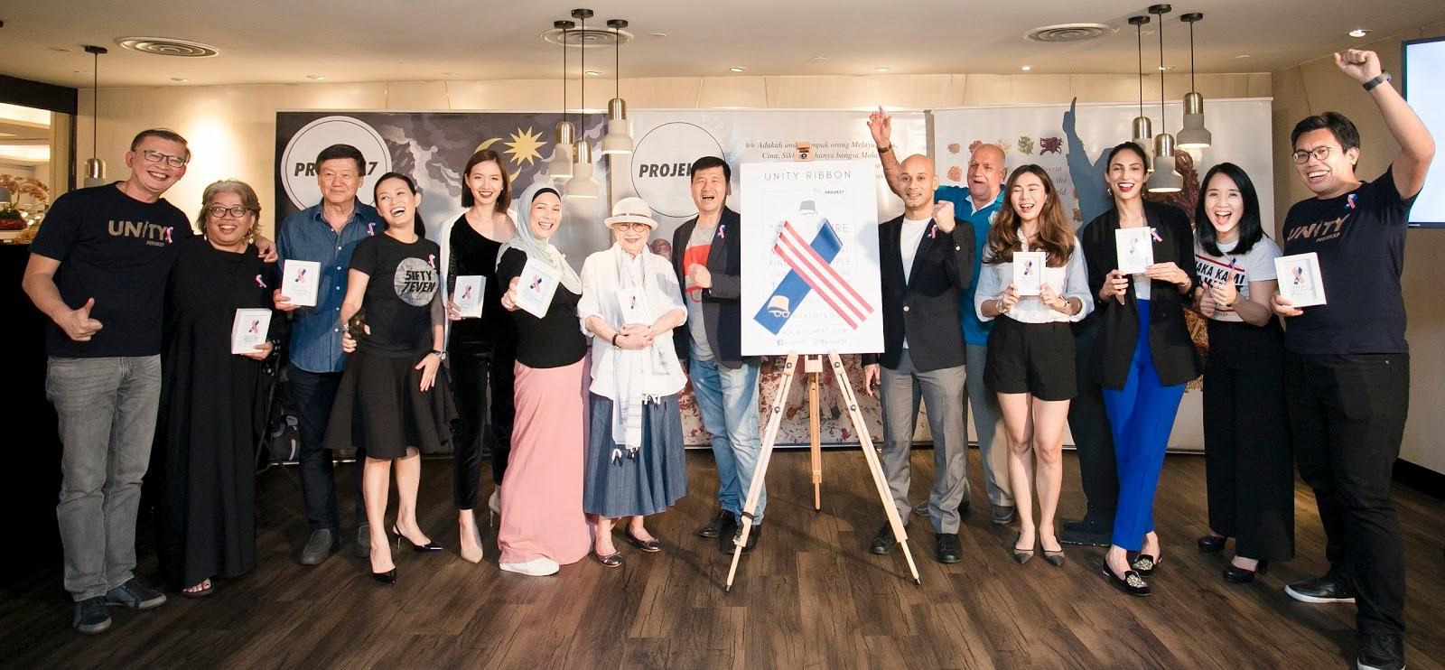 Projek57 Melancarkan Kempen Unity Ribbon