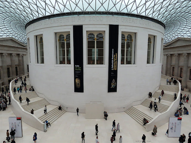 Queen Elizabeth II Great Court by Foster and Partners, British Museum, Great Russell Street, Bloomsbury, London