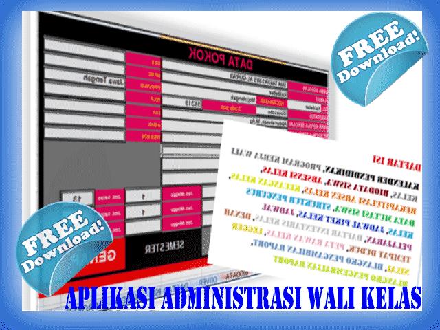 Download Administrasi Wali Kelas Terbaru dan Terlengkap