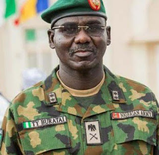 Chief of Army Staff (COAS) Gen. Tukur Yusufu Buratai