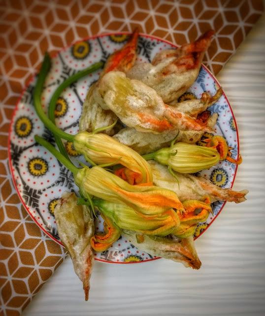 fiori di zucca alla romana