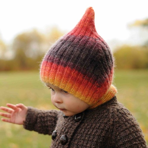 Striped Elf Hat - Free Pattern