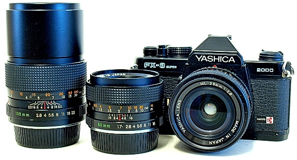 Yashica FX-3 Super 2000, ML Lenses