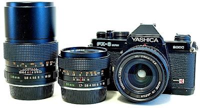 Yashica FX-3 Super 2000, ML Lenses
