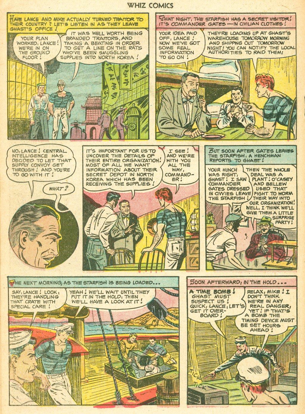 WHIZ Comics #155 #156 - English 18