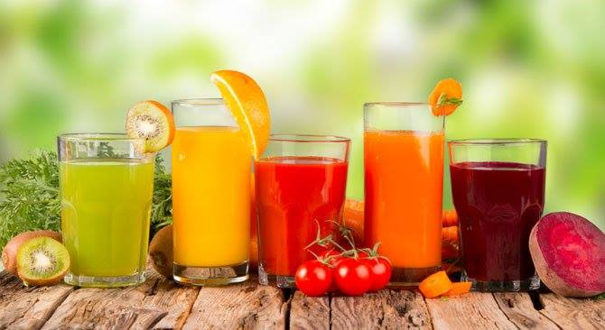 jus buah food combining
