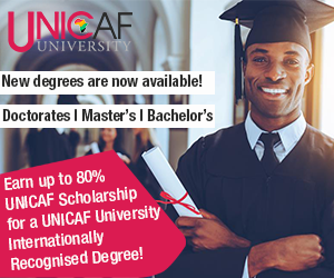 unicaf university scholarship africa malawi