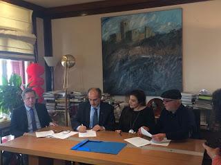 Υπογραφή Προγραμματικής Σύβασης με το ΥΠ.ΠΟ