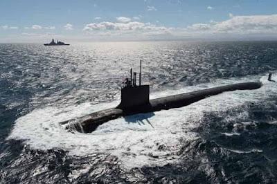 «Καταιγίδα» στη Μεσόγειο με Πυρηνοκίνητο Υποβρύχιο στην Πελοπόννησο
