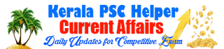 Kerala PSC Current Affairs
