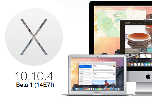 Download OS X 10.10.4 Yosemite Beta Delta, Combo Update .DMG Files - Direct Links