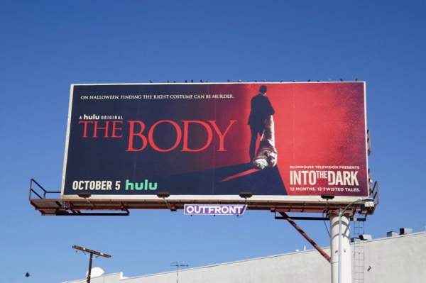 Into the Dark Body billboard
