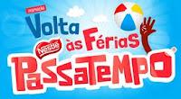 Promoção Volta às Férias Nestlé Passatempo promopassatempo.com.br