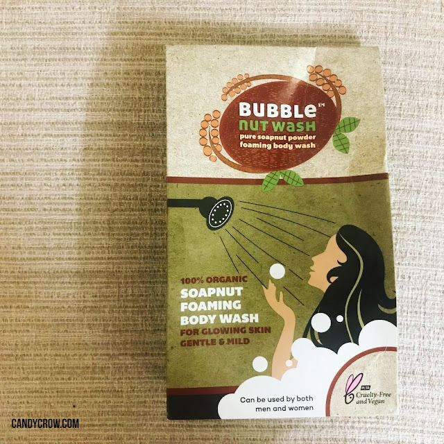 Bubble Nut Body Wash Powder Review