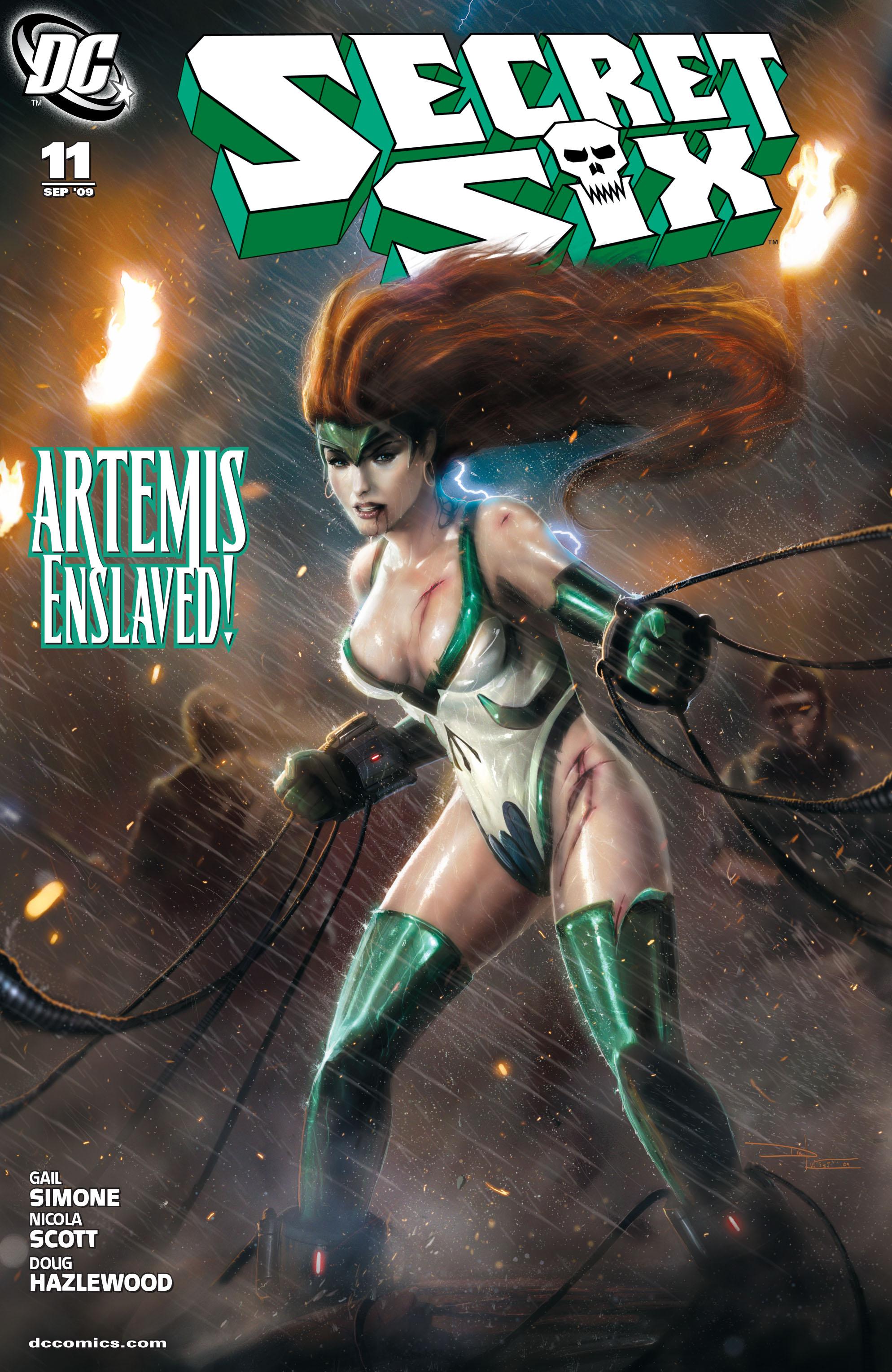 Read online Secret Six (2008) comic -  Issue #11 - 1