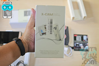 review x-cam sight 2 indonesia video stabilizer gimbal bluetooth