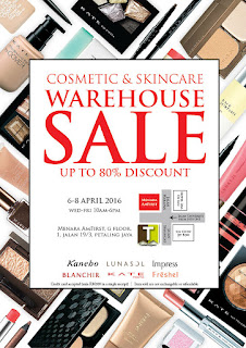 Kanebo Cosmetic & Skincare Warehouse Sale