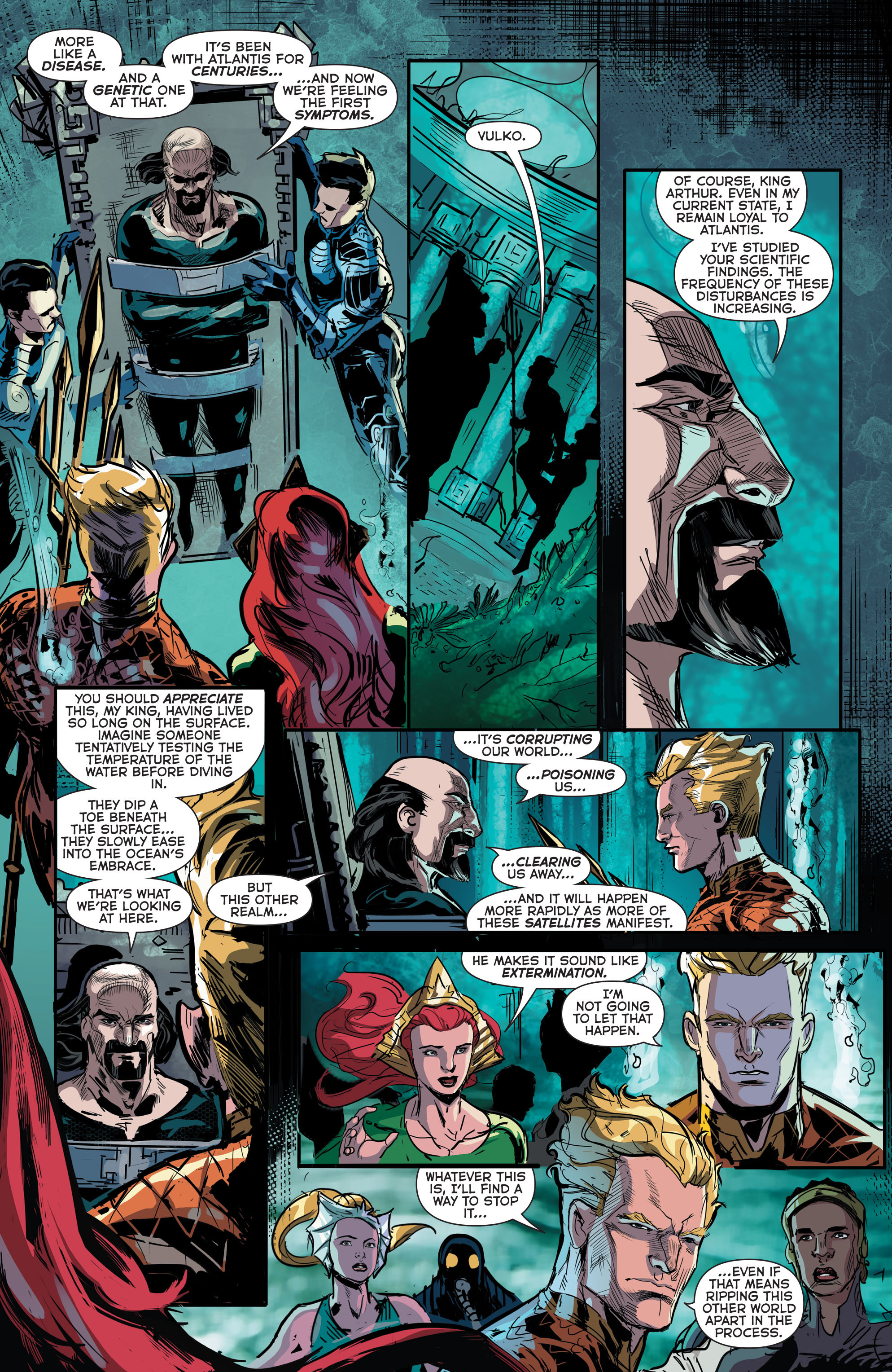 Read online Aquaman (2011) comic -  Issue #41 - 16