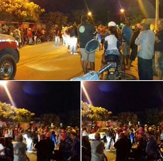 Registrada colisão entre motos em Nova Floresta