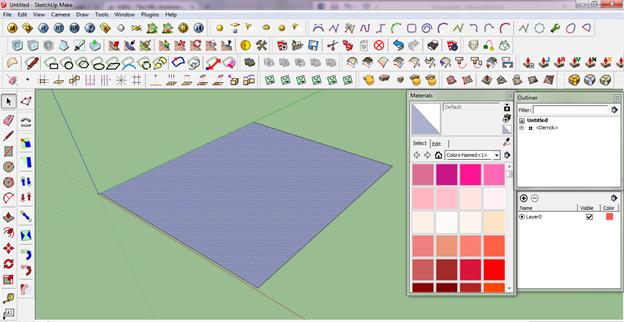 Cara membuat efek air laut dengan menggunakan v ray Online rendering tool