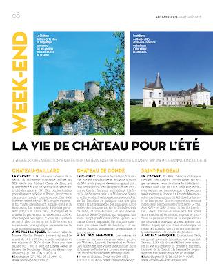 Article du Figaroscope sur le Château de Condé