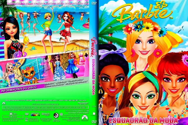 Capa DVD Barbie Esquadrão Da Moda