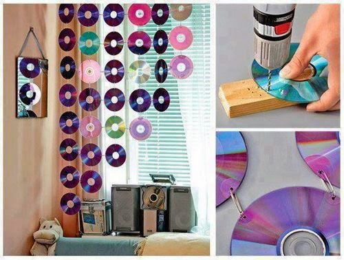CD diy crafts