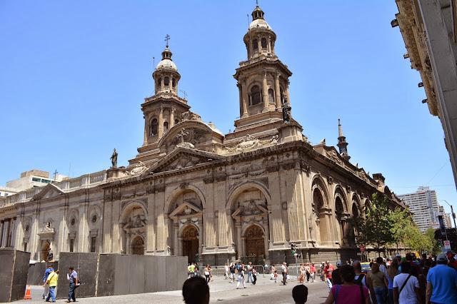 San Fransisco kilisesi, Santiago, Şili