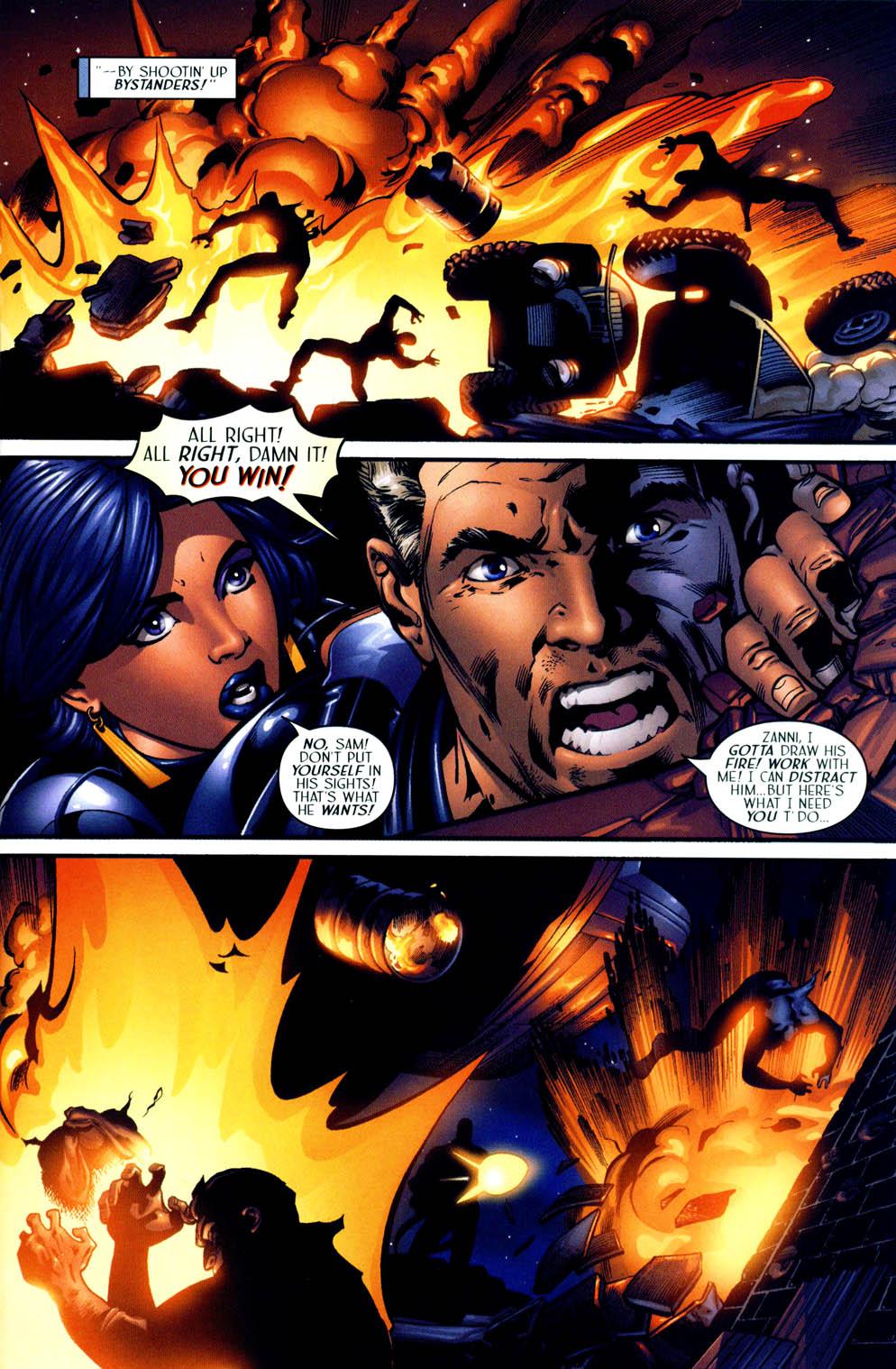 Read online Sigil (2000) comic -  Issue #12 - 17