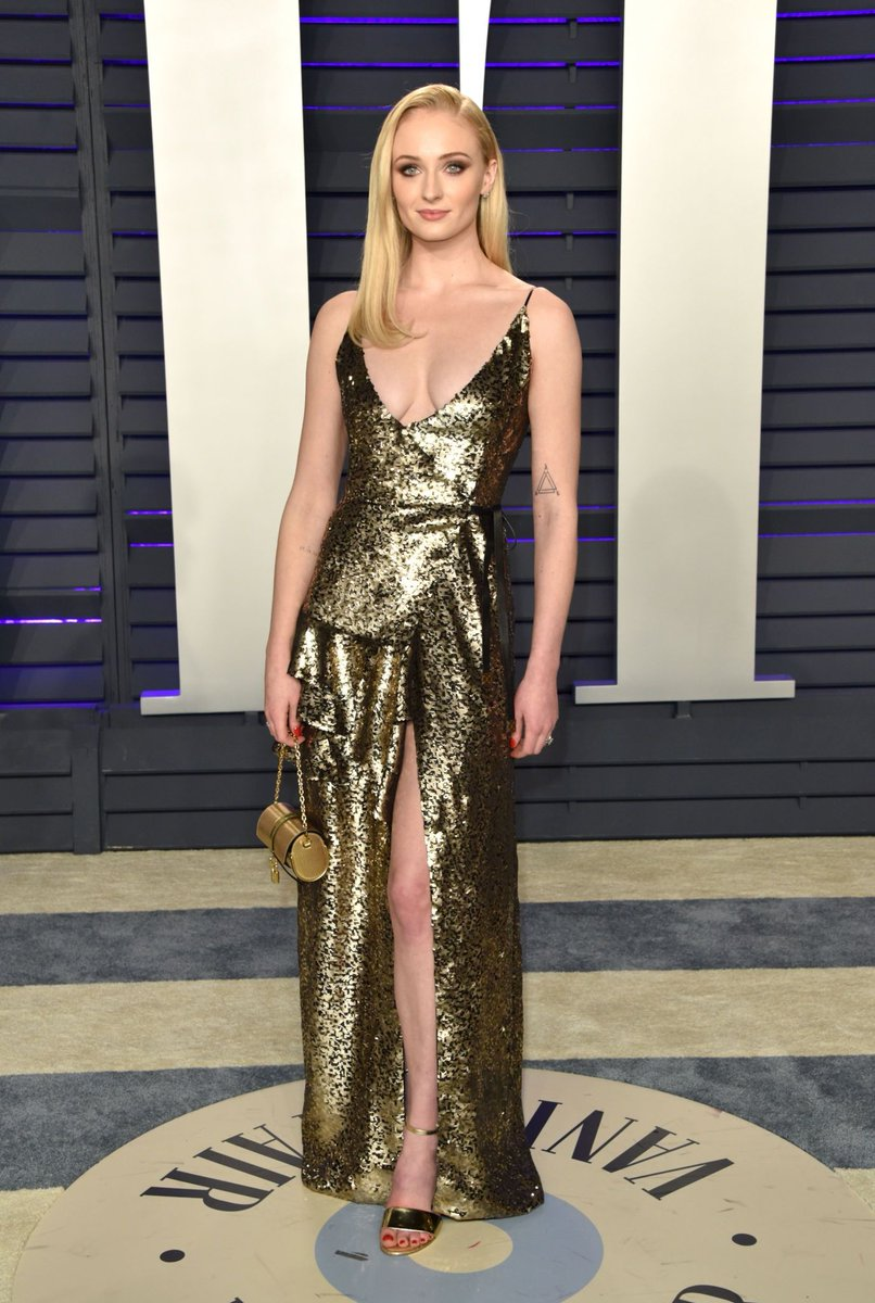 Sophie Turner – 2019 Vanity Fair Oscar Party in Beverly Hills