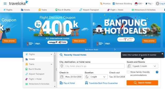 website untuk booking tiket pesawat