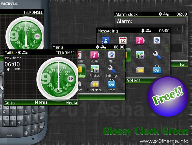 Clock Theme For Nokia 200 Battery - letterbikini