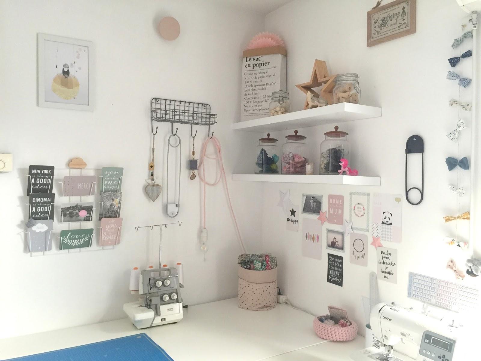 Roses et confettis mon nouvel atelier d 39 entrepreneuse for Acheter un plan de travail