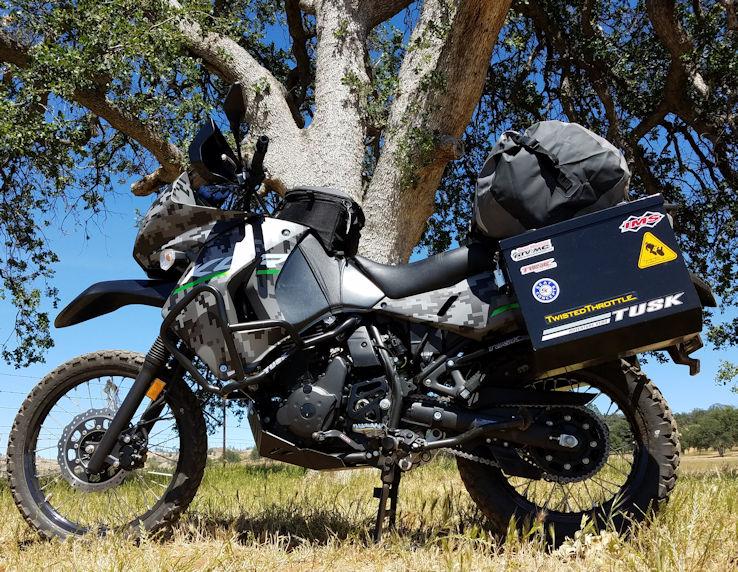 Official Quiet Warrior Racing Blog Kawasaki Klr 650 Camo Trail