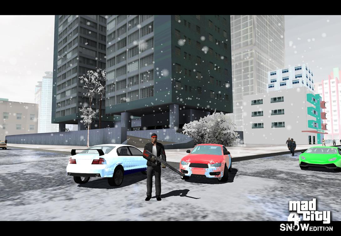 Mad City Crime 4 Winter Edition | 26 MB & 92 MB