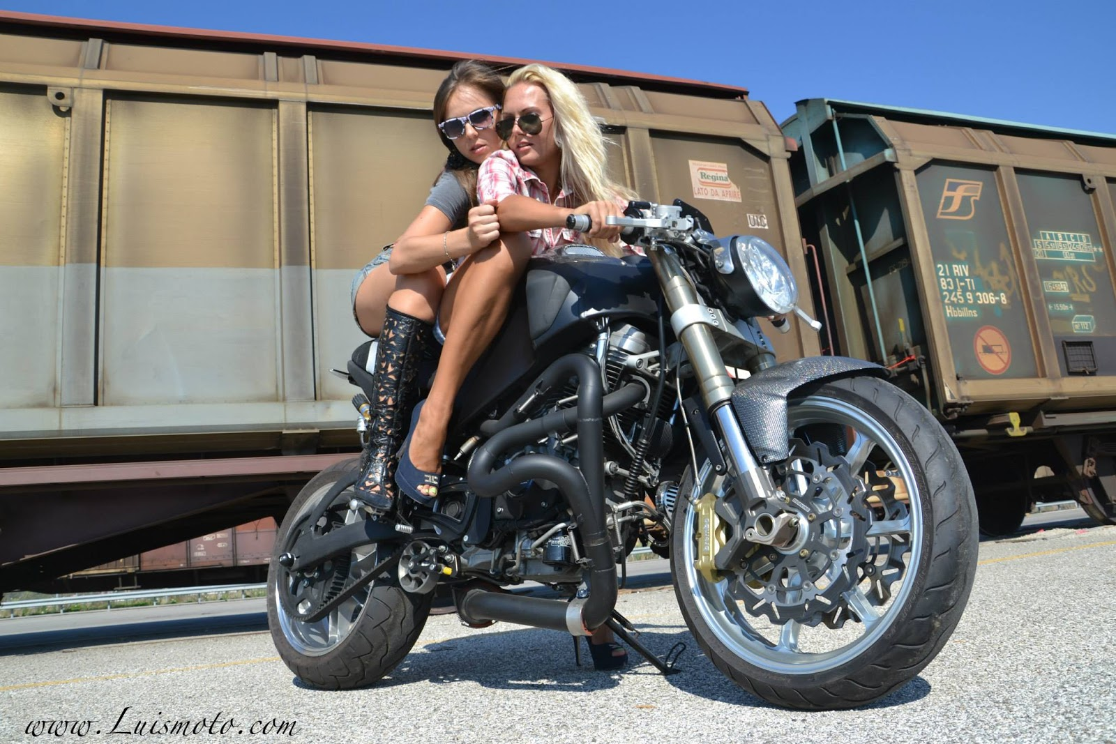 Mercenary garage: buell girls
